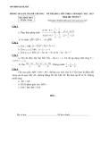 Đề thi học sinh giỏi môn Toán học  lớp 7 - Kèm đáp án