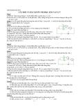 Ôn thi học kì II môn Vật lý lớp 7 - Các dạng bài cơ bản