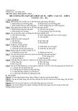 Đề cương ôn tập giữa học kì II - Môn Vật Lý lớp 6 - Năm học 2011-2012 - Trường THCS Trần Quốc Toản