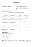 Tổng hợp đề kiểm tra 1 tiết môn Toán lớp 8 - Trường THCS Lê Qúy Đôn