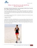 Những tác động tích cực của việc tập thể dục mà cực ít người biết