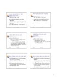 Bài giảng Hạch toán thu nhập quốc gia - Trần Bích Dung