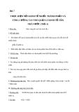 Giáo án GDCD 11 bài 7: Thực hiện nền kinh tế nhiều thành phần và tăng cường vai trò quản lý kinh tế của nhà nước