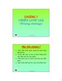 Bài giảng Nguyên lý marketing: Chương 7 - Ths.Đinh Tiến Minh