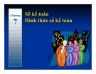 Bài giảng Nguyên lý kế toán: Chương 7 - PGS.TS.Mai Thị Hoàng Minh