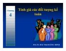 Bài giảng Nguyên lý kế toán: Chương 4 - PGS.TS.Mai Thị Hoàng Minh