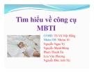Tiểu luận: Tìm hiểu về công cụ MBTI