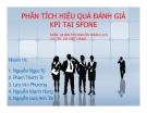 Tiểu luận: Phân tích hiệu quả đánh giá KPI tại Sfone