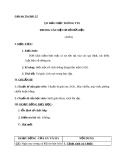 Giáo án Tin học 12 bài 11: Các thao tác với cơ sở dữ liệu quan hệ