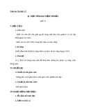 Giáo án Tin học 12 bài 1: Một số khái niệm cơ bản