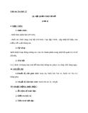 Giáo án Tin học 12 bài 2: Hệ quản trị cơ sở dữ liệu