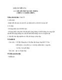 Giáo án Vật lý 6 bài 10: Lực kế-phép đo lực-trọng lượng và khối lượng