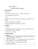 Giáo án Vật lý 6 bài 6: Lực-Hai lực cân bằng