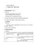 Giáo án Vật lý 6 bài 8: Trọng lực-Đơn vị lực
