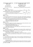 Đề thi tuyển sinh 10 Vật lí -  Sở GD&ĐT Đồng Tháp (2012-2013)