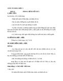 Bài 12: Phòng bệnh sốt rét - Giáo án Khoa học 5 - GV:N.T.Sỹ