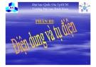 Bài giảng Tĩnh điện học: Phần III - ĐHBK TP.HCM
