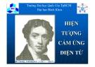 Bài giảng Tĩnh điện học: Phần XI - ĐHBK TP.HCM