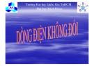 Bài giảng Tĩnh điện học: Phần V - ĐHBK TP.HCM