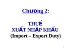 Bài giảng Thuế ứng dụng: Chương 2 - ThS. Văn Thị Quý