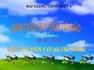 Bài giảng Chính tả: Nhớ, viết: Truyện cổ nước mình - Tiếng việt 4 - GV.N.Hoài Thanh