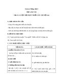 Giáo án bài TLV: Luyện tập phát triển câu chuyện (tt) (Tuần 8) - Tiếng việt 4 - GV.N.Hoài Thanh