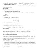 Đề thi HSG Toán lớp 10 - (Kèm đáp án)