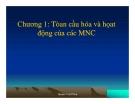 Bài giảng Quản trị kinh doanh quốc tế: Phần 1 -  GV. Nguyễn Hùng Phong