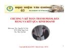 Bài giảng Kế toán tài chính: Chương 7 - Học viện Tài chính