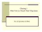 Bài giảng Phân tích chính sách thuế: Chương 1 - Ts. Lê Quang Cường