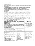 Bài 22: Tác dụng nhiệt TD phát sáng của dòng điện - Giáo án Vật lý 7 - GV:H.Đ.Khang