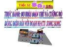 Bài giảng Vật lý 7 bài 28:  Thực hành đo cường độ dòng điện và hiệu điện thế đối với đoạn mạch mắc song song