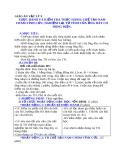 Bài 29: Thực hành chế tạo nam châm vĩnh cửu  - Giáo án Vật lý 9 - GV:H.Đ.Khang