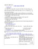 Giáo án Vật lý 9 bài 4: Đoạn mạch nối tiếp