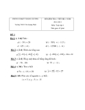 Đề kiểm tra 1 tiết HK1 Toán 6 (2012-2013) (Kèm đáp án)