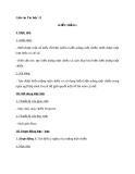 Giáo án Tin học 11 bài 11: Kiểu mảng