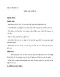 Giáo án Tin học 11 bài 12: Kiểu xâu