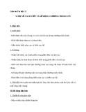 Giáo án Tin học 11 bài 18: Ví dụ về cách viết và sử dụng chương trình con