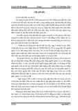 Đề tài: Phân tích tình hình cho vay xóa đói giảm nghèo tại ngân hàng chính sách xã hội huyện Hòa Vang TP. Đà Nẵng