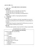 Bài 16: Dòng điện trong chân không - Giáo án Vật lý 11 - GV:L.N.Trinh
