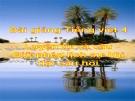 Bài giảng LTVC: Giữ phép lịch sự khi đặt câu hỏi - Tiếng việt 4 - GV.N.Hoài Thanh