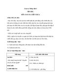 Giáo án bài Tập đọc: Bốn anh tài (tt) - Tiếng việt 4 - GV.N.Hoài Thanh