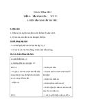 Giáo án bài Tập làm văn: Luyện tập tóm tắt tin tức - Tiếng việt 4 - GV.N.Hoài Thanh