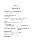 Giáo án bài Kể chuyện được chứng kiến, tham gia (Tuần 31)  - Tiếng việt 4 - GV.N.Hoài Thanh