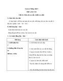 Giáo án bài Tập làm văn: Miêu tả con vật (kiểm tra viết) - Tiếng việt 4 - GV.N.Hoài Thanh