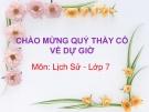 Bài giảng Lịch sử 7 bài 13:  Nước Đại Việt ở thế kỉ XIII