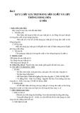 Giáo án GDCD 11 bài 3: Quy luật giá trị trong sản xuất và lưu thông hàng hóa