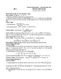 Đề thi thử Đại học môn Toán khối A,A1,B,D 2013-2014 (kèm đáp án)
