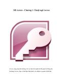 Tìm hiểu về MS Access