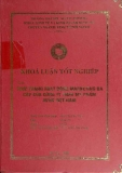Khóa luận tốt nghiệp: Thực trạng hoạt động marketing đa cấp của công ty TNHH mỹ phẩm AVON Việt Nam